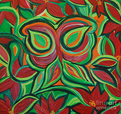 Painting - Garden Camouflage By Jrr by First Star Art