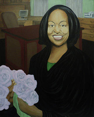 Painting - Graduate Beauty by Angelo Thomas