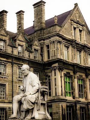 Photograph - Graduates Memorial Building Dublin 2 by Lexa Harpell