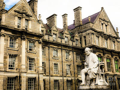 Photograph - Graduates Memorial Building Trinity College by Lexa Harpell