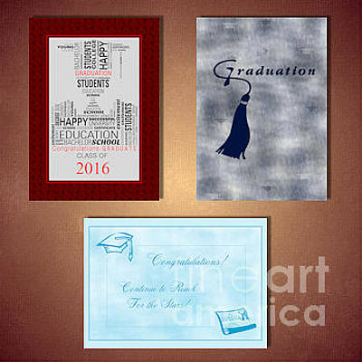 Digital Art - Graduation by JH Designs