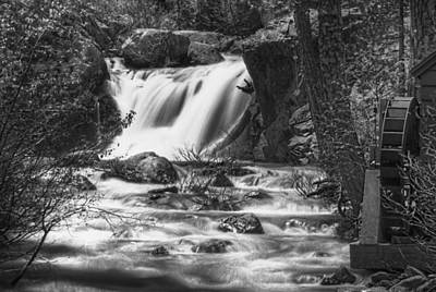Photograph - Graeagle Falls by Mick Burkey