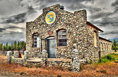Stone Buildings Photograph - Graeagle Stone Dairy  by Michael  Ayers