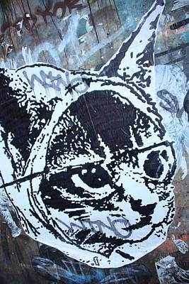 Graf Cat Art Print by Jez C Self