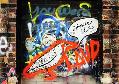 Photograph - Graffiti 1 by Bob Christopher