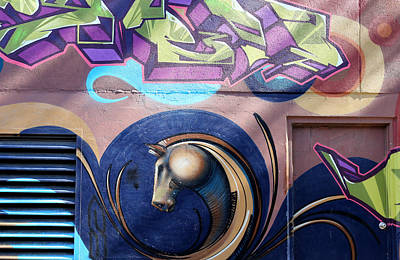 Photograph - Graffiti 10 by Andrew Fare