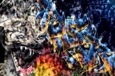 Photograph - Graffiti 12 by Andrew Fare