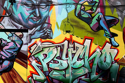 Photograph - Graffiti 2 by Andrew Fare