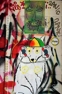 Photograph - Graffiti 2 by Bob Christopher