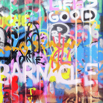 Murals Photograph - Graffiti 3 by Delphimages Photo Creations