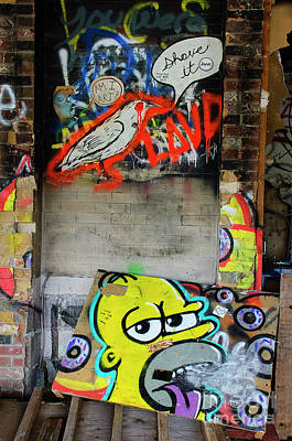 Photograph - Graffiti 5 by Bob Christopher