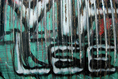 Photograph - Graffiti Abstract 2 by Jani Freimann