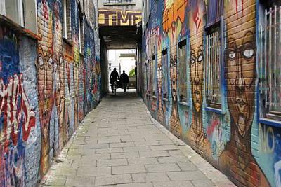 Wall Art - Photograph - Graffiti Alley by Brandy Herren
