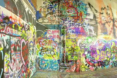 Target Threshold Nature - Graffiti Alley by Craig Voth