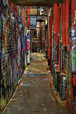 Photograph - Graffiti Alley by Pat Cook