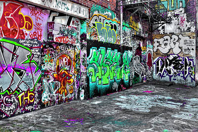Photograph - Graffiti Alley by Reynaldo Williams