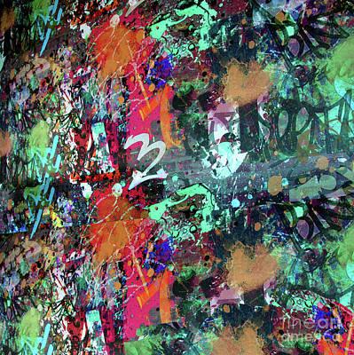 Graffiti And Paint Spray  Art Print