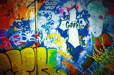 Graffiti Art 49 Art Print
