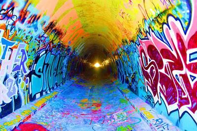Graffiti Art 56 Art Print by Cindy Nunn