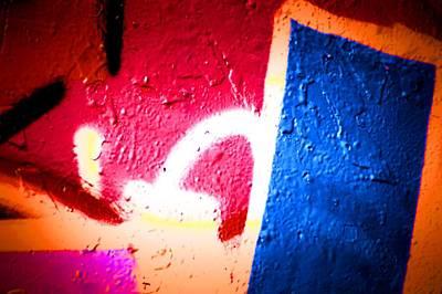 Splashy Photograph - Graffiti Art 58 by Cindy Nunn