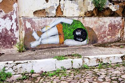 Photograph - Graffiti Art Lencois Brazil by Bob Christopher