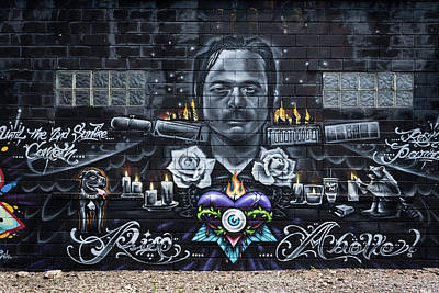 Photograph -  Graffiti Art by Stewart Helberg