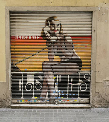 Photograph - Graffiti, Barcelona by Frank DiMarco