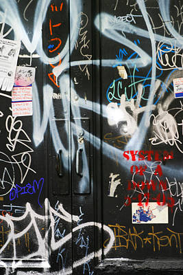 Chuck Kuhn Photograph - Graffiti  by Chuck Kuhn