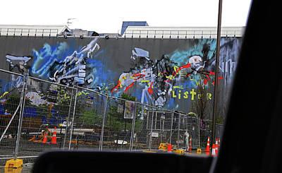 Photograph - Graffiti City by Nareeta Martin