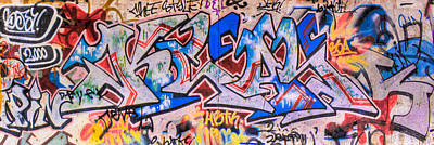 Abstract Photograph - Graffiti Close Up 2 by Jacob Brewer