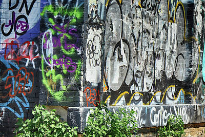 Photograph - Graffiti Corner by Cate Franklyn