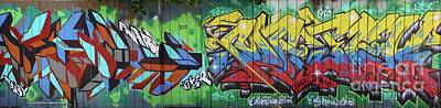 Graffiti Crazy Art Print