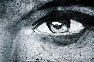 Vandalize Painting - Graffiti Eye by Yurix Sardinelly