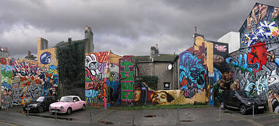 Spray Can Painting - Graffiti From Brighton. Uk. by Mike Lester