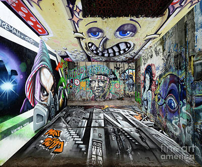 Photograph - Graffiti On The Wild Side by Bob Christopher