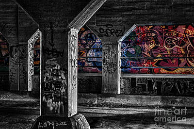 Graffiti Galore 2 Art Print