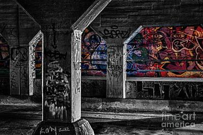 Graffiti Galore 2 Art Print