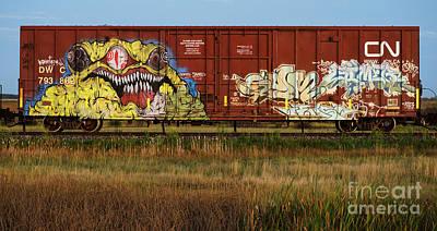 Spray Paint Can Photograph - Graffiti Genius 6 by Bob Christopher