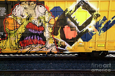Spray Paint Cans Photograph - Graffiti Genius 8 by Bob Christopher
