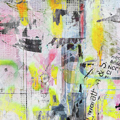 Digital Art - Graffiti Graphic by Roseanne Jones