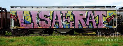 Graffiti Lisa The Rat Art Print