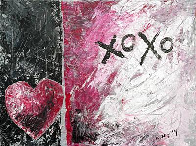Painting - Graffiti Love by Wendy May