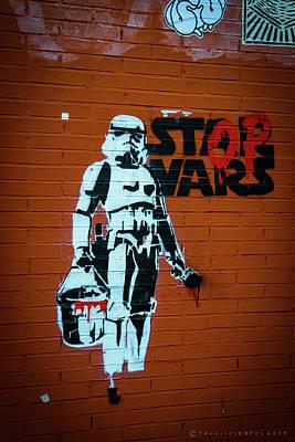 Photograph - Graffiti Merida Spain by Henri Irizarri