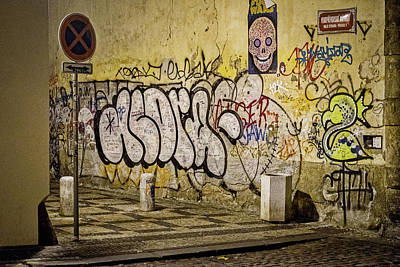 Photograph - Graffiti Near The Lennon Wall - Prague by Stuart Litoff