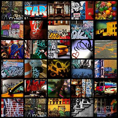 Photograph - Graffiti Of New York - Picture Panel by Miriam Danar