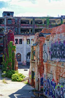 Photograph - Graffiti Ruins by Stewart Helberg