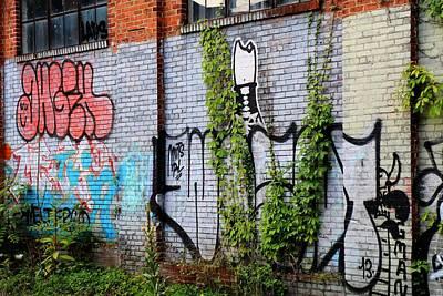Photograph - Graffiti Sprawl by Carol Montoya
