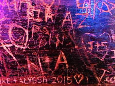 Photograph - Graffiti by Tatiana Travelways