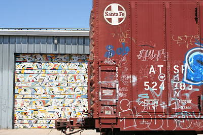 Photograph - Graffiti Train by Heidi Hermes