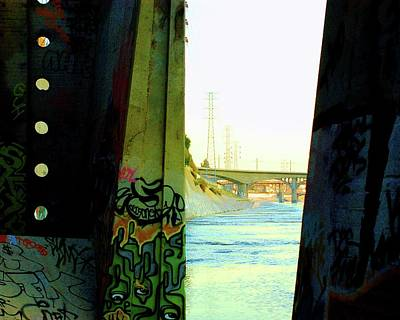 Photograph - Graffiti Tunnel And Bridge View  by Matt Harang